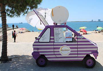 Olá, verão: a food truck da Olh'a Bolinha já voltou à Praia da Saúde
