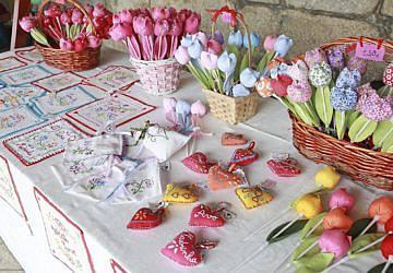 Mostra de artesanato e produtos regionais invade a Avenida Luísa Todi