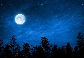 Olhe para o céu: em outubro há uma lua cheia azul